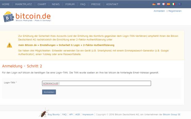 bitcoinde-registration needed-tan