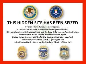 Wer heute auf die Silk Road wollte, erlebte eine böse Überraschung: Das FBI hat die Seite vom Netz genommen
