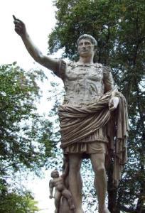 Gaius Julius Cäsar, Imperator des römischen Reiches, Eroberer Galliens (c) Andreas Liebhart / pixelio.de