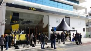 Die Eröffnung von Neo & Bee am Montag, 24. Februar