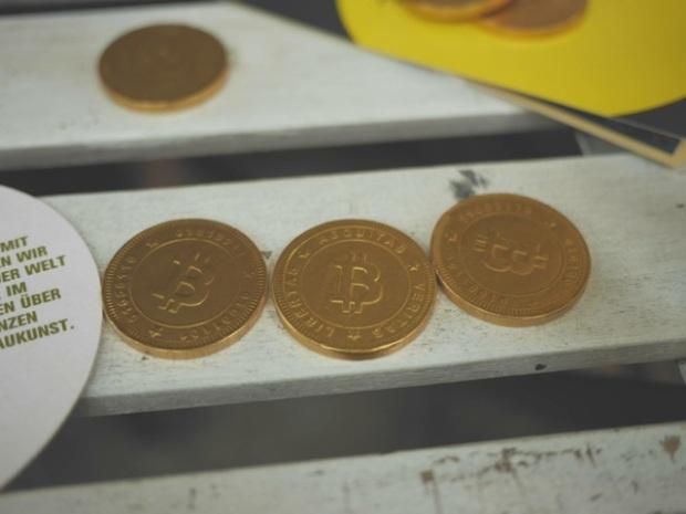 Lecker - die Chocobitcoins.