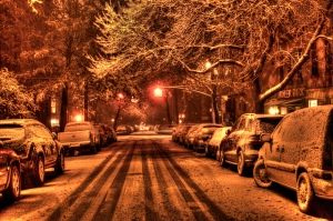 """Brookly Stnow Storm"" von mike via flickr.com. Lizenz gemäß Creative Commons 2.0"