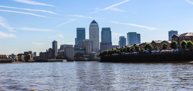 """Canary Wharf"" von Dave Straven via flickr.com. Lizenz: Creative Commons 2.0"