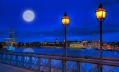 """Spring Moon over Stockholm"" von  Tobias Lindman via flickr.com. Lizenz: Creative Commons"
