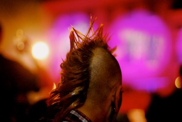Punk 2.0: Ist der wahre Punk heute im Internet, unsichtbar hinter Kryptographie? Bild: Punk'd. Von Taro Taylor via flickr.com. Lizenz: Creative Commons 2.0