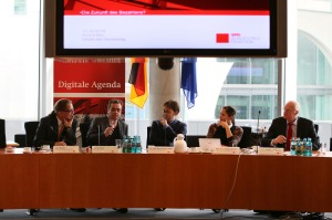 """Bitcoin & Co. - Digitale Agenda 2014-2017"". Foto von spdfraktion.de via flickr.com."
