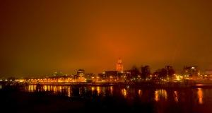 Arnhem bei Nacht. Von  Yabba You via flickr.com. Lizent: Creative Commons