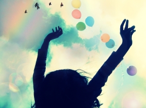 """Felicidad , Optimismo y Colores!"" Bild von  Camdiluv ♥ via flickr.com. Lizenz: Creative Commons"