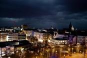 """""""special view on Hannover, from the Anzeigerhochhaus on the Steintorplatz"""". Bild von martin via flickr.com. Lizenz: Creative Commons"""