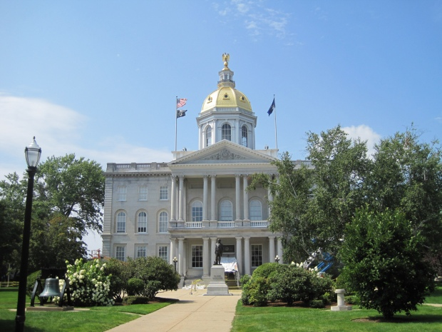 New Hampshire State House von Teemu008 via flickr.com. Lizenz: Creative Commons