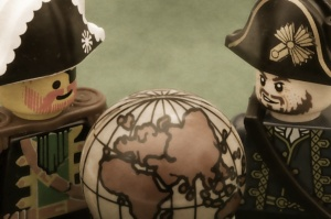 """Redbeard and Barbossa divide the New World."" Foto von Pascal via flickr.com. Lizenz: Kein Copyright"