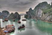 Vietnam: Ha Long Bay. Bild von guido da rozze via flickr.com. Lizenz: Creative Commons