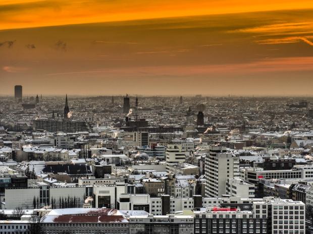 Sollte eigentlich Europas Silicon Valley werden. Aber es gibt ein paar Probleme: Berlin, fotografiert vom Kollhoff-Tower von Sascha Kohlmann via flickr.com. Lizenz: Creativ Commons