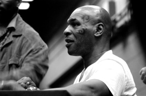 Mike Tyson, a Man of the People. Bild von shelbysdrummond via flickr.com. Lizenz: Creative Commons