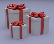 """Gift Boxes"" von  FutUndBeidl via flickr.com. Lizenz: Creative Commons"