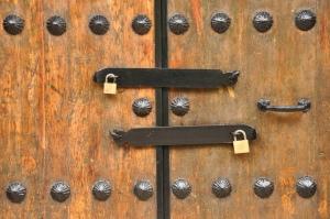 The double locked door. Foto von momentcaptured1 via flickr.com. Lizenz: Creative Commons