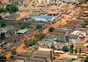 Luftaufnahme von Lagos. Bild von Robert via flickr.com. Lizenz: Creative Commons
