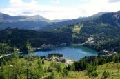Blick auf den Turracher See. Bild von Christiane Jodl via flickr.com. Lizenz: Creative Commons