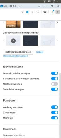 Opera-Browser nun auch mit Krypto-Wallet für Desktop-Version